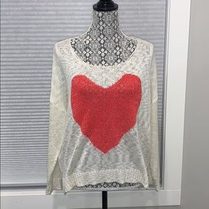 Katsumi Heart Sweater